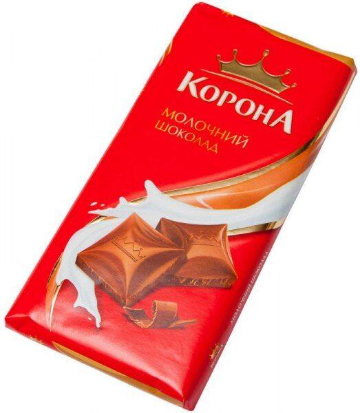 Корона молочный шоколад