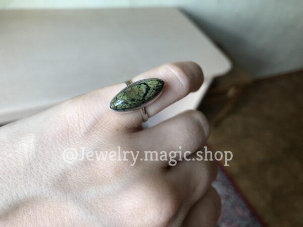 Кольцо со Змеевиком